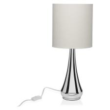 BigBuy Home Asztali Lámpa vászonanyag Fém (25,4 x 56,5 x 25,4 cm) világítás