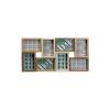 BigBuy Home Fali képkeret Fa MDF (3,2 x 28,1 x 56,5 cm)