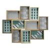 BigBuy Home Fényképkeret Fa MDF (3 x 46,4 x 55,4 cm) (x10)