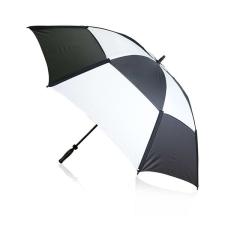 BigBuy Outdoor Golf esernyő (Ø 135 cm) 144393 Fekete/Fehér esernyő