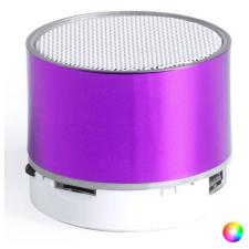 BigBuy Tech Bluetooth hangszóró LED lámpával 145775 Kék hordozható hangszóró