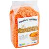 Bio vörös lencse felezett 500 g (GreenMark Organic)
