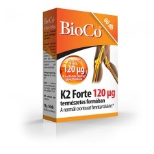 BioCo K2 Forte 120 µg tabletta 60 db vitamin