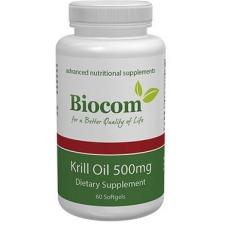 Biocom Krill Oil kapszula 60db táplálékkiegészítő