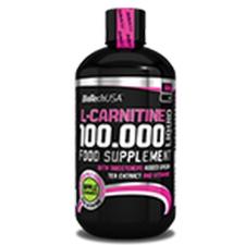 BioTech USA L-Carnitine 100.000 - 500 ml vitamin és táplálékkiegészítő
