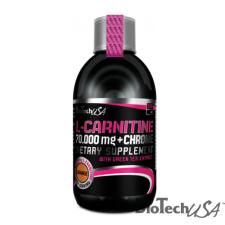BioTech USA L-Carnitine 70.000 mg + Chrome - 500 ml táplálékkiegészítő