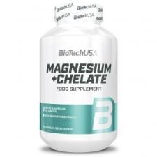 BioTech USA Magnesium + Chelate kapszula - 60db biokészítmény