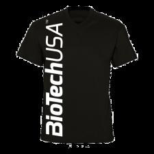 BioTechUSA férfi póló, fekete férfi póló