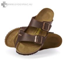 Birkenstock papucs lábujjvédő barna