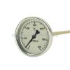 Biterm (magyar) Kemencehőmérő 0+600˚C-os, 10cm-es, menet nélkül