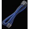 Bitfenix 8-Pin EPS12V hosszabbító 45cm - fekete / kék / fekete