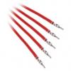 Bitfénix Bitfenix Alchemy 2.0 PSU kábel 5x20cm - piros