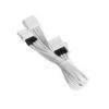 Bitfénix Bitfenix Molex - 3x Molex Adapter 55cm - fehér / fehér