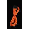 Bitfénix Bitfenix Molex SATA adapter 45 cm - narancssárga / fekete
