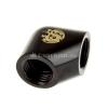 Bitspower Adapter 90° 2x G1/4 - matt fekete