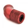 Bitspower Csatlakozó 45° G1/4, 10/8 mm - vérvörös, forgatható
