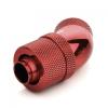 Bitspower Csatlakozó 45° G1/4, 13/10 mm - vérvörös, forgatható