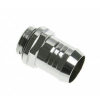 Bitspower Fitting G1/4, 13mm - fényes ezüst