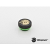 Bitspower G1/4 Matt Black Stop Fitting V2 /BP-MBWP-C06V2/