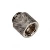 Bitspower hosszabbító G1 / 4 G1 / 4 inch, 15 mm-es - fekete csillogó