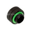 Bitspower Multi-Link Adapter Akril csőhöz OD 12mm - matt fekete