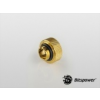 Bitspower Multi-Link Adapter G1/4 True Brass 16mm AD - arany /BP-TBWP-C89/