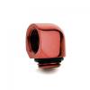 Bitspower Winkel G1/4 - G1/4 - vérvörös