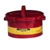 Biztonsági tartály oldószerekre, piros, 3 kg