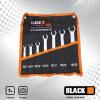 Black 7db-os fékcsőkulcs készlet 6/8-19/22 16007