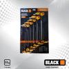 Black T-nyelű imbuszkulcs készlet 11 darabos 30103
