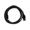 BlackBird Micro USB Adatkábel 1m, Fekete 2A (Extra erős anyagból) (BH185_BLACK)