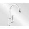 Blanco MIDA-S SILGRANIT kihúzható perlátoros mosogató csaptelep (fehér, 521457)