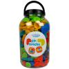 Bloko: 200 darabos tüskés építőjáték műanyag dobozban