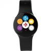 Bluetooth csuklópánt, aktivitást mérő karkötő, MyKronoz ZeCircle, fekete