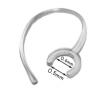 Bluetooth headset fülpánt kis átmérőjű bilinccsel