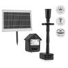 Blumfeldt Blumfeldt Wasserwerk 500, vízszivattyú, napelemes, szökőkút, 500 l/h, LED, akkumulátor