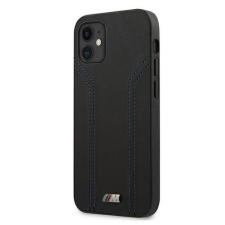 """BMW Etui BMW BMHCP12LDLBK iPhone 12 6,7"""" Pro Max fekete kemény tok M Collection Blue Lines telefontok tok és táska"""