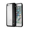 BMW iPhone 6/7/8 Engraved Aluminum Plate Hard hátlap, tok, átlátszó