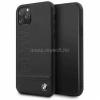 BMW Logo Imprint iPhone 11 Pro fekete keménytok (BMHCN58LLSB)