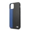 BMW tok Fekete / Kék (BMHCN65MCARBL) Apple iPhone 11 Pro Max készülékhez