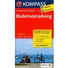 Bodenseeradweg kerékpártúra térkép - Kompass FTK 7005