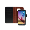 Book + szilikon tok - Apple iPhone X - fekete