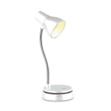 Bookchair Könyvre csíptethető lámpa Bookchair Little Lamp Fehér elemlámpa