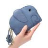 Bőr elefánt pénztárca Kék