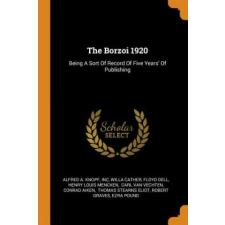 Borzoi 1920 – Alfred a Knopf,Inc,Willa Cather idegen nyelvű könyv