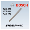 Bosch AZB 611 Hosszabbító, ? 80 mm, L=1000 mm