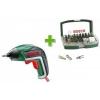 Bosch IXO akkus csavarhúzó + 32 részes tartozékkészlet (06039A800S)
