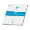 BOXER Gyűrűs könyv betét, A4, kockás, 50 lap, BOXER, fehér (BOXGYB4K)