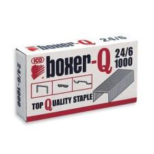 BOXER Tűzőkapocs BOXER-Q 24/6 1000 db/dob gemkapocs, tűzőkapocs
