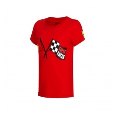 Branded Ferrari F1 gyerek póló Super Racer red Team 2016 - 104 cm (kids)
